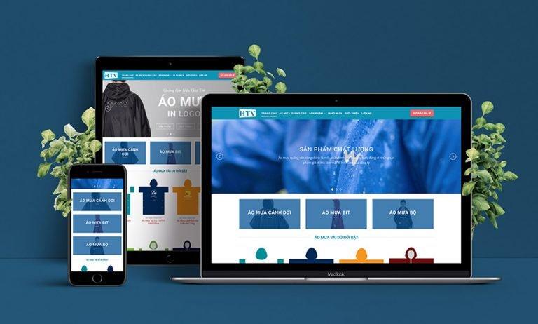 Website Sản Xuất Áo Mưa