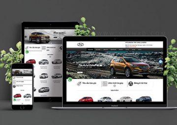 Website Bán Xe Huyndai