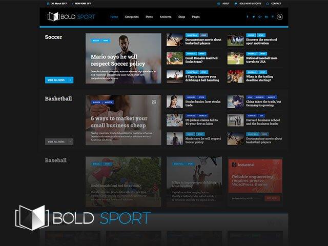 Bold News - Giao Diện Tin Tức Nhẹ - Đẹp -Tùy Biến 5