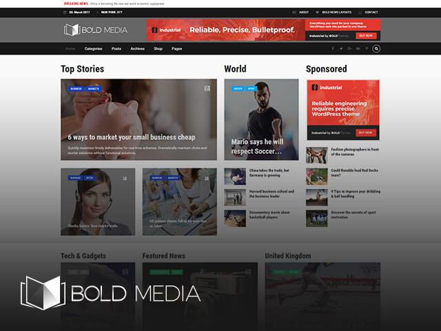 Bold News - Giao Diện Tin Tức Nhẹ - Đẹp -Tùy Biến 6