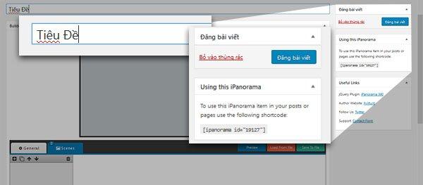 Plugin iPanorama 360° - Tạo Không Gian Thực Tế Ảo Trên Wordpress 21