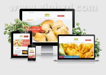 Website Bánh Tráng Quốc Thái