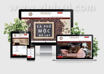 Website Cà Phê Mộc Đà Lạt