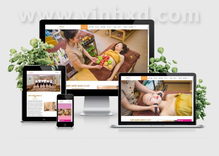 Website WordPress Svietspa