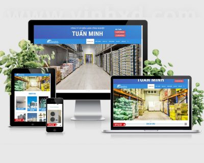 Website Kho Lạnh Tuấn Minh