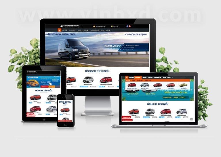 Website Hyundai Gia Định