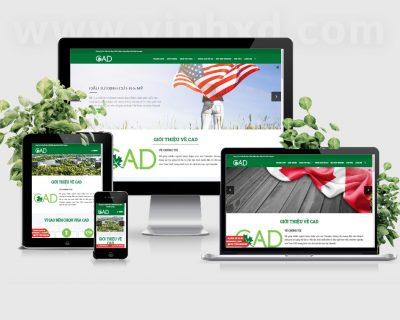 Website Tư Vấn Du Học Visa-CAD