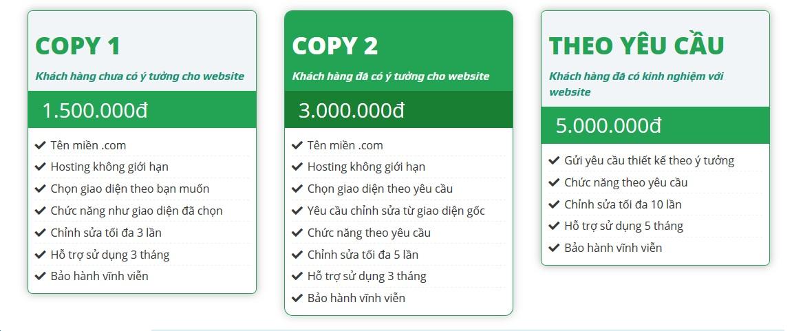 Chi Phí Thiết Kế Website 12