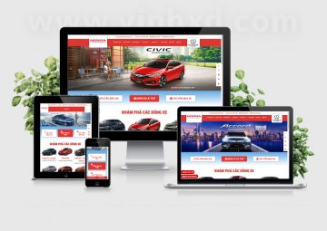 Website Honda Ôtô Nha Trang