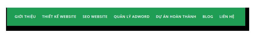 Làm Việc Với Menu Trên Wordpress 5