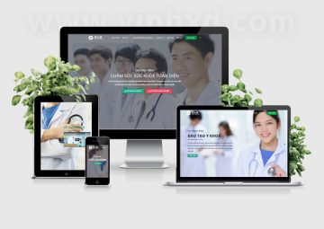 Website Dịch Vụ Khám Tổng Quát