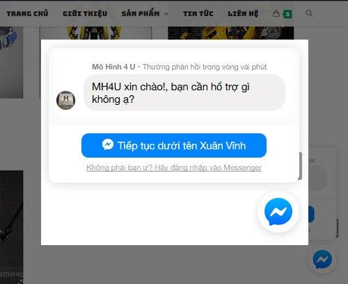 Website Mô Hình mohinh4u.com 3