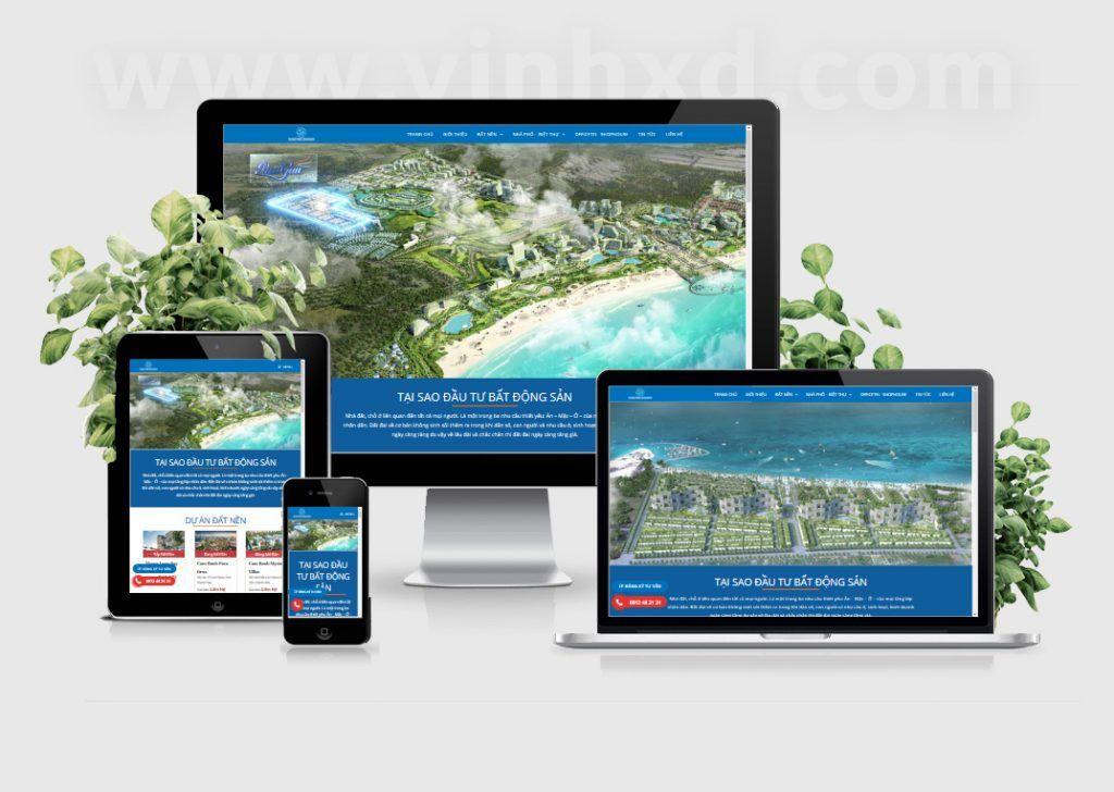 Website BDS Danh Việt Holding 1