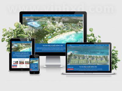 Website BDS Danh Việt Holding