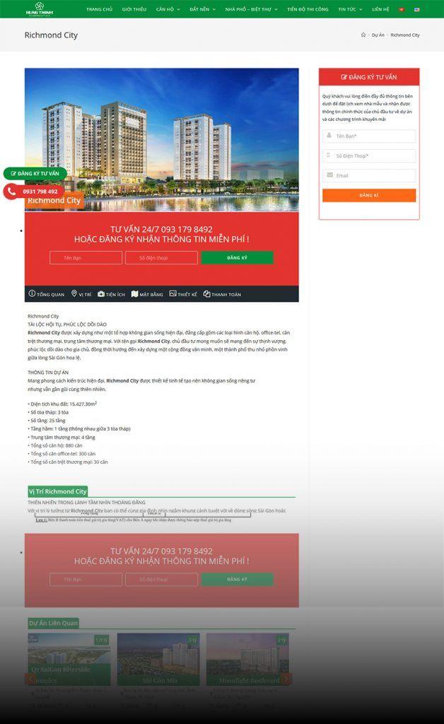Website BDS Danh Việt Holding 3