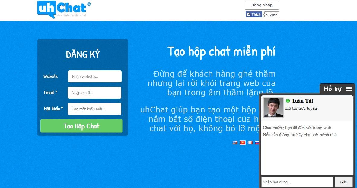 Chat Trên Website 2