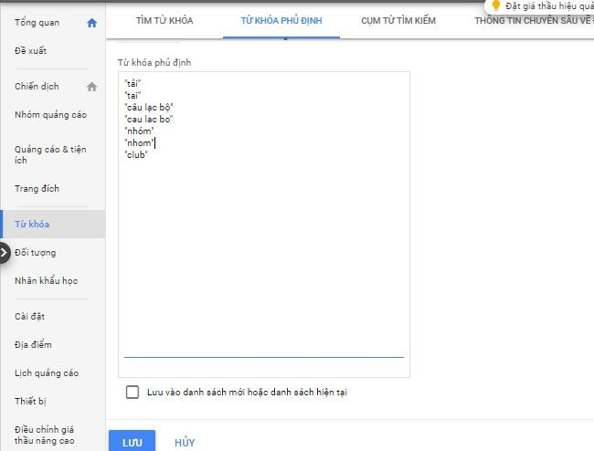 Tối Ưu Google Ads 4