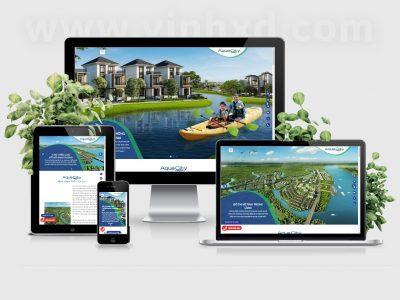 Landing Page AquaCity